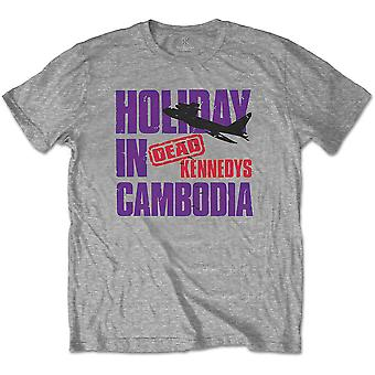 Dead Kennedys - Holiday Plane Men's Medium T-Shirt - Grey