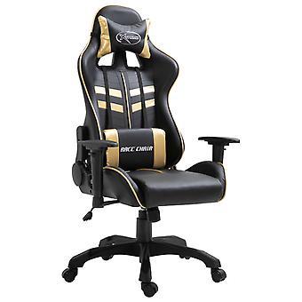 Gaming Stuhl Kunstleder Golden