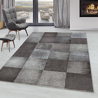 Soggiorno Tappeto RICA Short Pile Soft pile Square Lattice Design