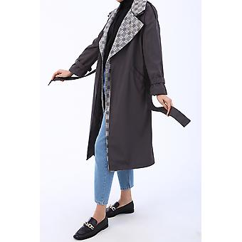 Comfortable Mold Belted Trench Coat