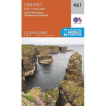 Orkney  East Mainland by Ordnance Survey