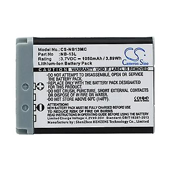 Cameron Sino Nb13Mc Battery Replacement For Canon Camera