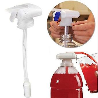 2021 Newest Hot White Magic Tap Battery Electric Automatic Water Drink Beverage Dispenser Spill