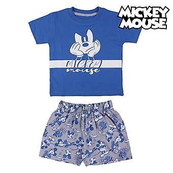بيجامة الأطفال ميكي ماوس الأزرق