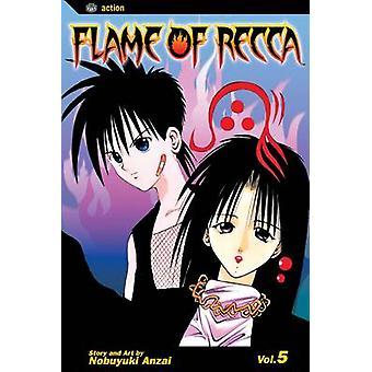 Flame of Recca Vol. 5 by Nobuyuki Anzai