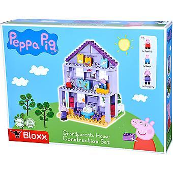 Big-Bloxx Peppa Pig Grootouders Huis Speelset