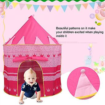 Portable Assembling Play Tent Indoor Outdoor Camping Picnic Use With Carry Bag