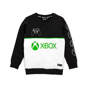 Sweat-shirt XBOX pour garçons et filles | Enfants Black Green Controller Game Sweater Pull | Enfants Gamers Hoodie Vêtements Marchandise
