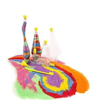 Luminous Diy Sand Painting Bottle Handmade Colorful Educational Toys 5-9 Years Old