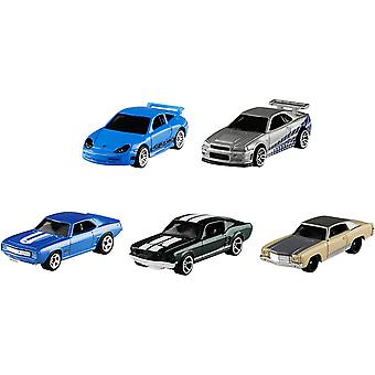 Hot Wheels Fast and Furious 5 Véhicules pack
