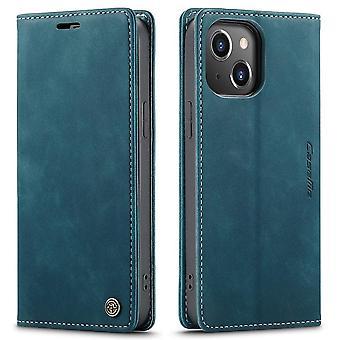 CASEME Plånboksfodral iPhone 13 Pro - Blå