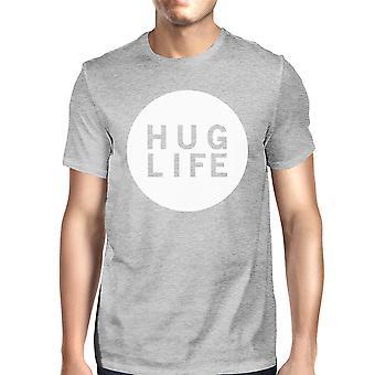 Knus liv mænd Heather grå T-shirt unikke Design Ultra blød fornemmelse