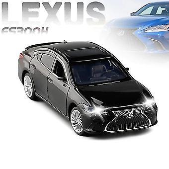 Toy cars 1:32 lexus es300h alloy pull back car model black