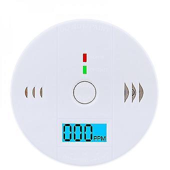 Detector de alarma de monitor de sensor de intoxicación por monóxido de carbono Lcd Co