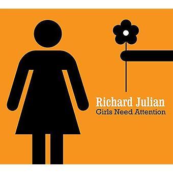 Richard Julian - importação EUA meninas precisa de atenção [CD]