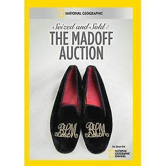 Seized & Sold: The Madoff Auction [DVD] USA import
