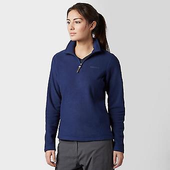 New Brasher Women's Bleaberry Half Zip Fleece Clothing Navy