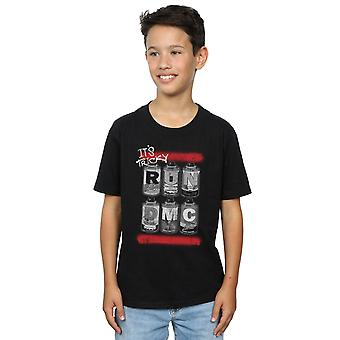 Run DMC Boys Spray Cans T-Shirt