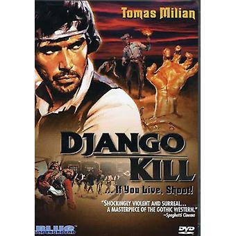 Tomas Milian - Django Kill: If You Live Shoot! [DVD] USA import