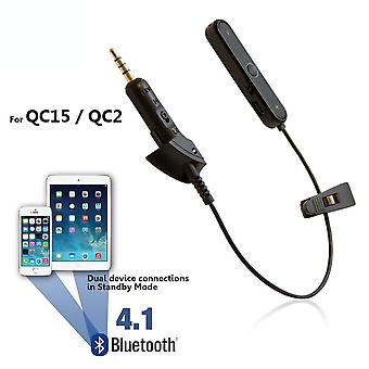 REYTID Wireless Bluetooth Adapter Cable Compatibile con le cuffie Bose QC2/QC15