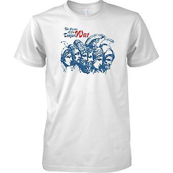The Heroes Of The Trojan War - Odysseus Acamas Ajax - Mens T Shirt