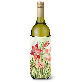 Lillies II par Maureen Bonfield vin bouteille boisson isolateur Hugger