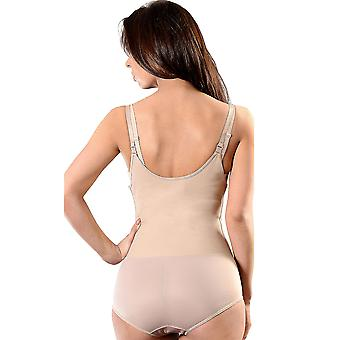 Esbelt ES603 Women's Nude Firm/Medium Control Slimming Shaping All In One Body
