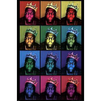 Пресловутый большой - поп-арт Кинг Плакат Плакат Печать
