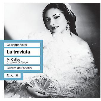 Verdi / Callas / Valleti / Toddei / Giron / Farfan - La Traviata [CD] USA import