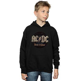 Chłopcy AC/DC Rock lub biust Bluza z kapturem