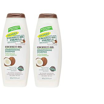 Palmer's Coconut Oil Formula Conditioning Shampoo 400ml (2 Pack)