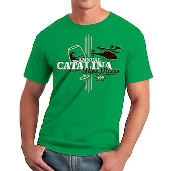 Step Brothers Catalina Wine Mixer Men's Kelly Green T-shirt