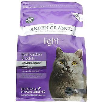 Ξηρό φως τροφής για γάτες 2 κιλά