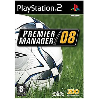 Premier Manager 08 (PS2) - New Factory Sealed