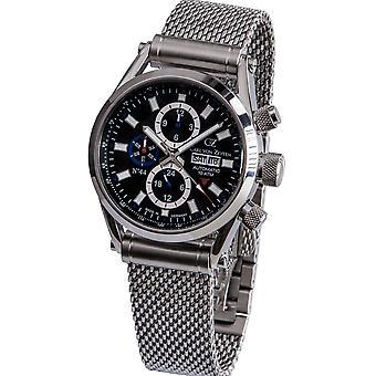 Carl of Zeyten men's watch wristwatch automatic no.. 44 CVZ0044BKMB