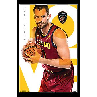 Cleveland Cavaliers - K amor 17 Poster Print