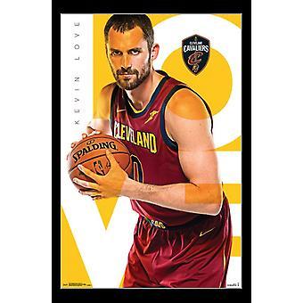 Cleveland Cavaliers - K Love 17 Juliste Tulosta