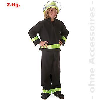 Brandmand kostume børn brandslukker brandmand barn kostume
