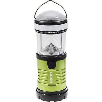 LED Camping lantern Dörr Foto Premium-Steel PS-15575 200 lm battery-powered 164 g Green, Black 980544