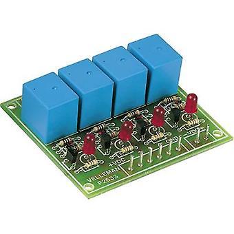 Whadda K2633 Relay card Assembly kit 9 V DC