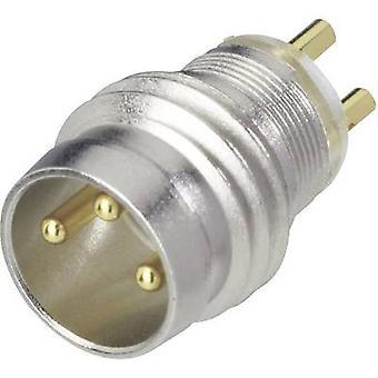 Hirschmann 933 392-001 ELST 3308 RV KH apparaat Connector voor M8-sensors metaal, zilver (metallic)