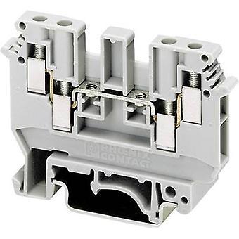 Phoenix Contact UDK 4 2775016 Kontinuität Anzahl der Pins: 4 0,2 mm ² 4 mm ² grau 1 PC