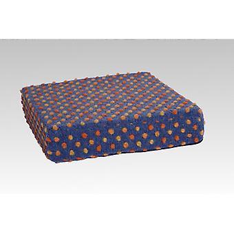 Booster seat kussen stand-up help-blauwgekleurd van 40 x 40 x 10 cm