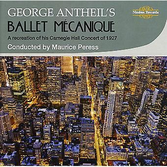 G. Antheil - importation USA Ballet M Canique [CD] de George Antheil