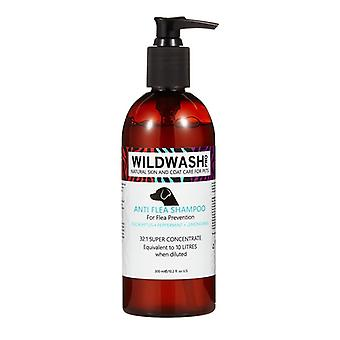 Wildwash Anti-Flea Repellent Protection Natural Shampoo for Dogs