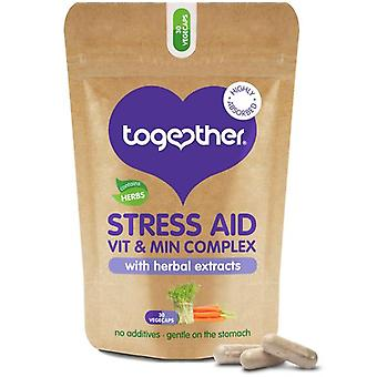 Together Health WholeVit Stress Aid Complex 30 Capsules