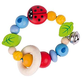 Heimess Touch Ring Rattle Elastic Ladybird I