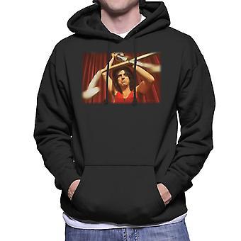 TV-tider-Alice Cooper Trident Mäns Hooded Sweatshirt