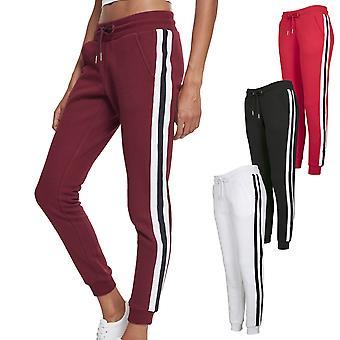 Mesdames urbaines classiques - pantalons de survêtement en molleton sports collégiaux