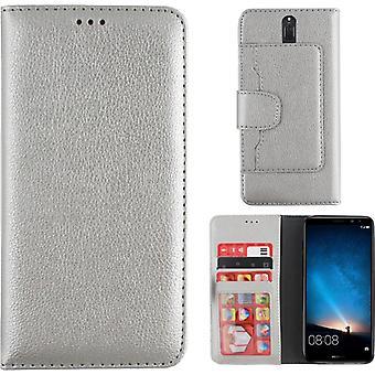 Colorfone Wallet Huawei Mate 10 Lite Plånboksfodral SILVER